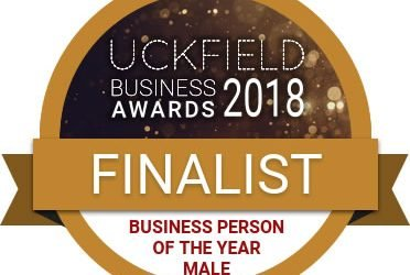 Delighted to achieve runner up Business Person of the Year 2018