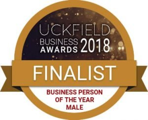 Chris Dowling, Uckfield Business Award finalist