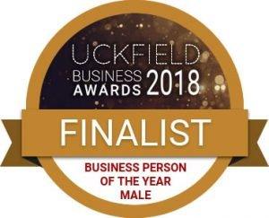 Chris Dowling, Uckfield Business Award finalist
